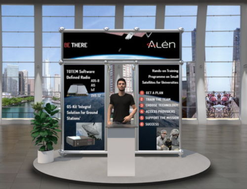 Alén Space presents its products and services at IAC 2020