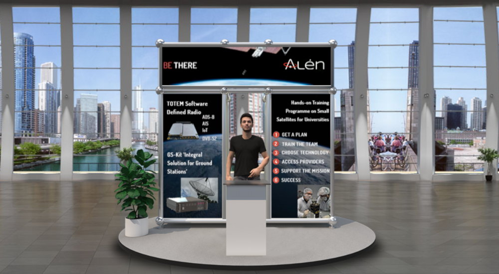 Alén Space boot at IAC 2020