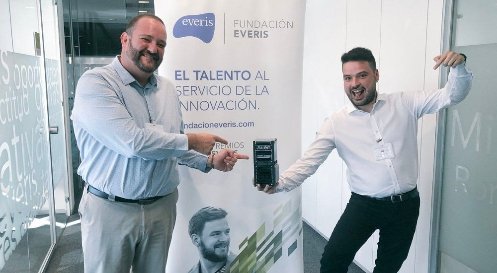 Alén Space takes part in the finals of the Everis Awards