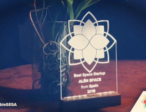 Alén Space, elegida como Best Space Startup en los Premios SESA