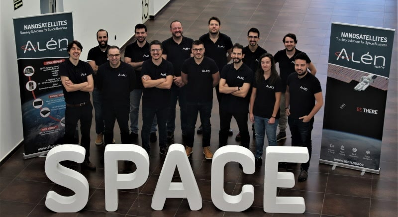 Alén Space team