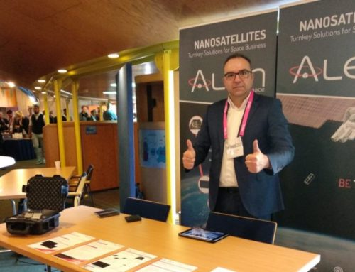 Alén Space showcases TOTEM at the ESA CubeSat Industry Days