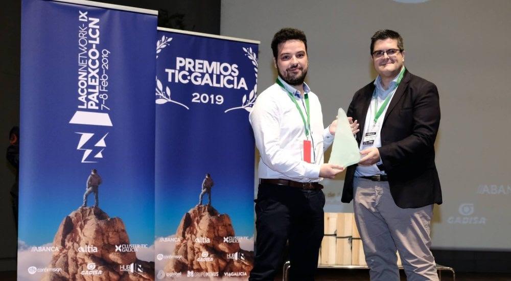 Alén Space, elegida como Mejor Startup en los Premios TIC Galicia