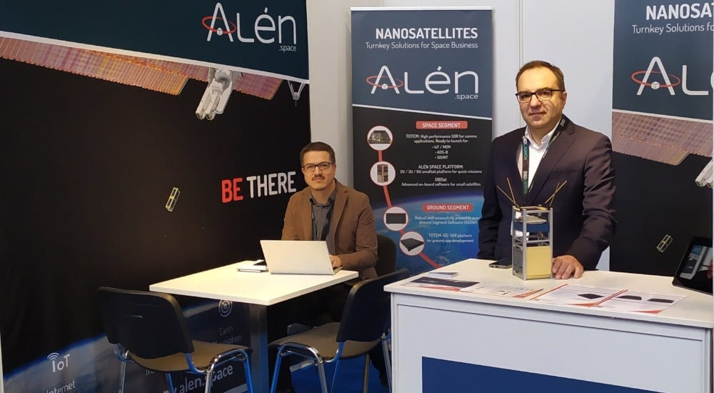 Alén Space takes part in the Space Tech Expo Europe 2019 in Bremen